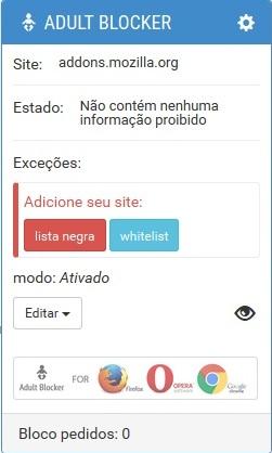 bloquear google imagens